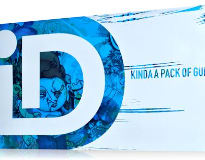 Oversize ID Gum pack