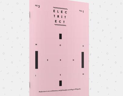 Electritect No.3 Vol. 1