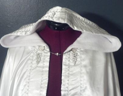 White half cape