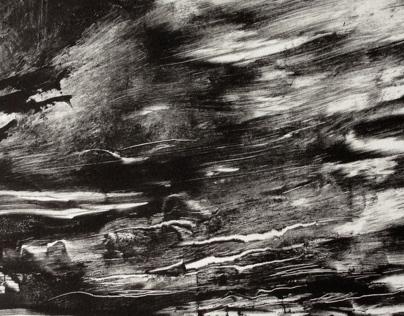 Monoprints : Spring 2013