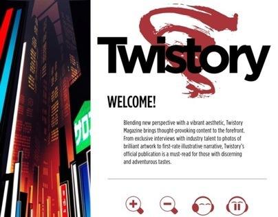 Twistory Digital Magazine Pages