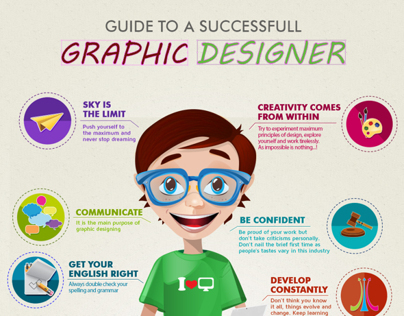 Infographics: Guide to a Successful Designer