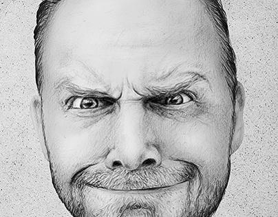 Bill Burr Portrait