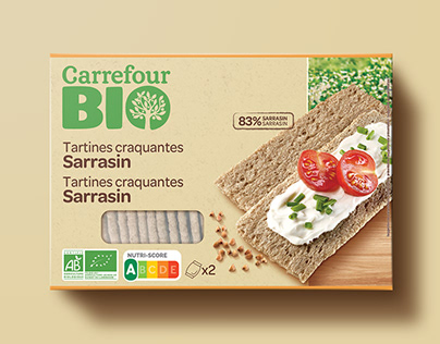 CARREFOUR - Packaging graphic design