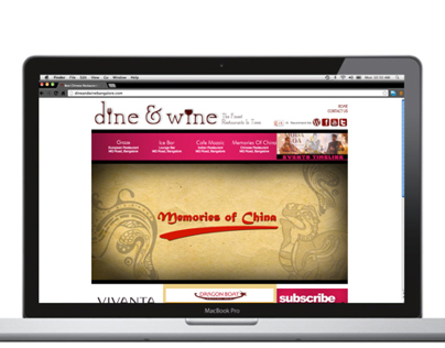 Dine and Wine Website