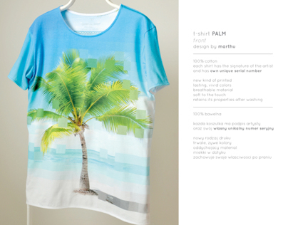 PALM marthu t-shirt