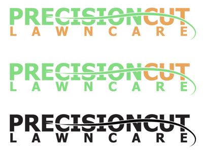 Precision Cut Lawn Care Logo