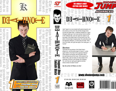 'Death Note' book cover recreation