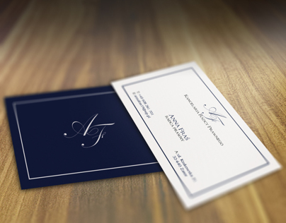 Solicitor Anna Fraś Business Card