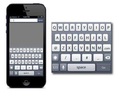 UX: iPhone Keyboard Design