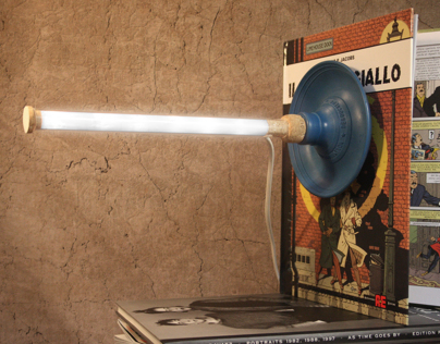 Plunger Lamp