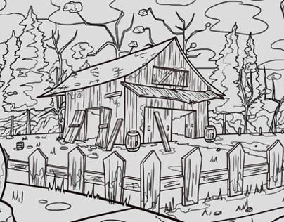 Abandoned old Farm ~ Granja Abandonada
