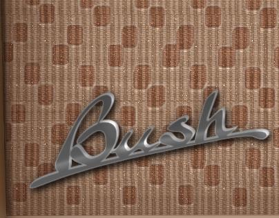 Vintage Bush Radio with Photoshop CS5