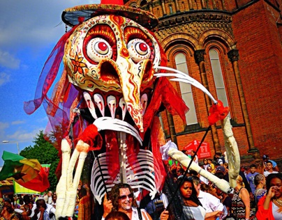Carnival & Parade Arts (large scale puppets)