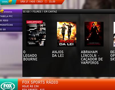 OI TV | User Interface Redesign