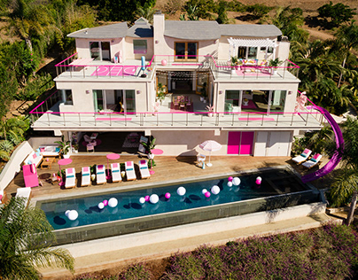 Airbnb + Mattel: Barbie Malibu Dreamhouse