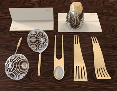 TS Kitchen Utensil Design