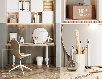 Ikea workplace 2 3d model