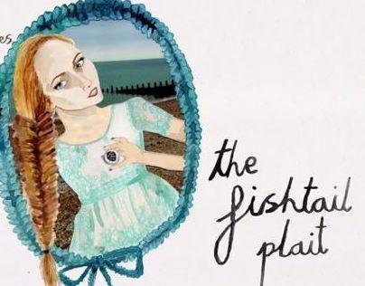 Lush does the fishtail plait animation
