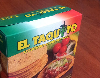 El Taquito - Tostadas Packaging