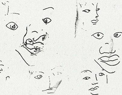 Proyecto libre. Dibujos ciegos.