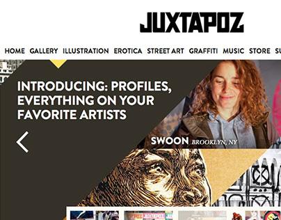 Juxtapoz.com, Redesign