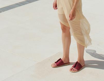 Eväkäs fish leather sandals