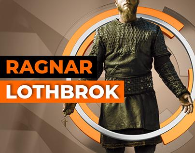 "Ragnar Lothbrok from ""Viking"" series"