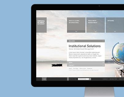 Swiss & Global – corporate website