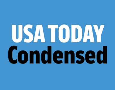 USA TODAY Condensed typeface