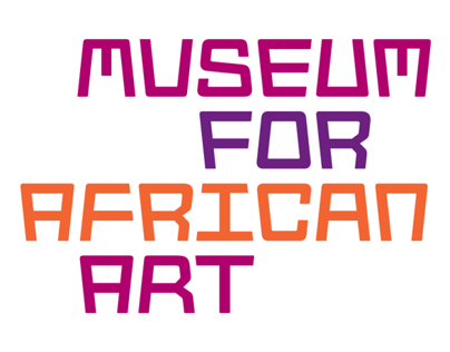 Museum for African Art logotype & typeface