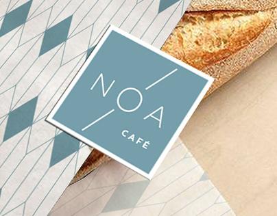 Identidade para um café no Algarve