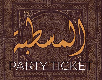Al mastaba party ticket