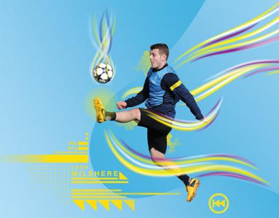 Illustration: Soccer Arsenal Player