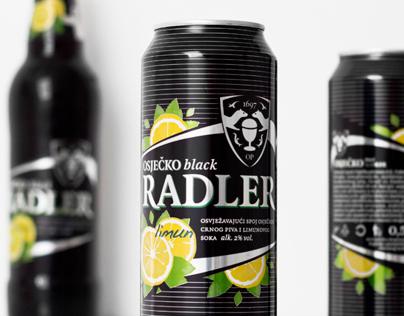 Osječko pivo Black Radler Beer