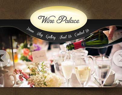 Website Design (Food / Wine)