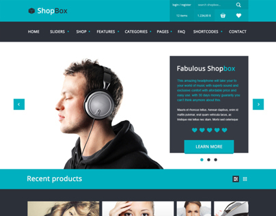 Shopbox -  future Wordpress WooCommerce theme