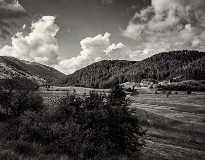 Parco Nazionale d'Abruzzo -  Black and White