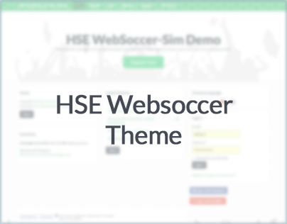 HSE Websoccer Theme