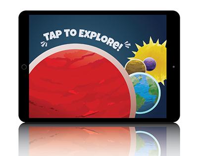 Solar System Inforgraphic