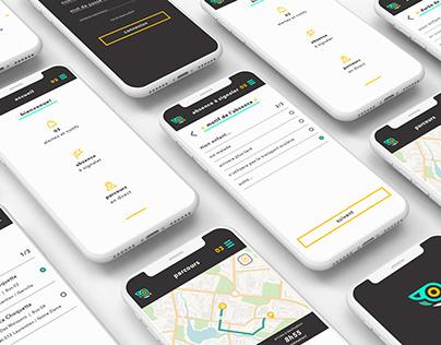 Harfang App – UI/UX & Brand Design