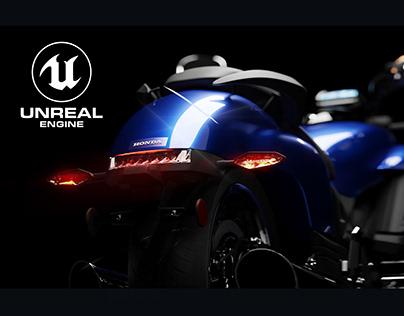 Honda Valkyrie- Studio CGI