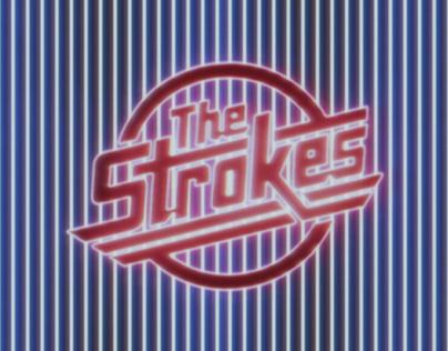 """The Strokes"" liveshow (visuals)"