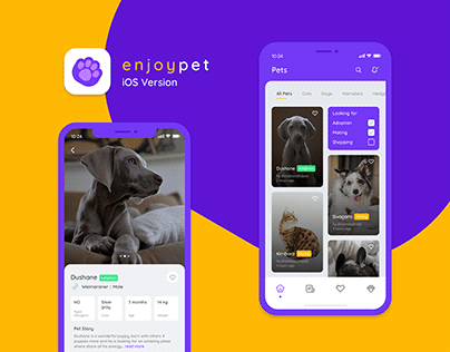 Enjoypet ~ Mobile App