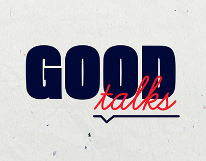 GOODTALKS / Logotype