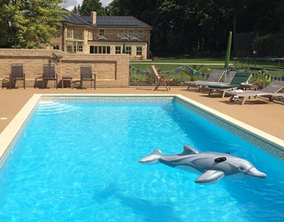 Resin Bound Swimming Pool Surrounds