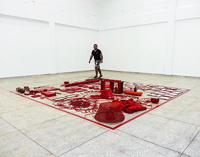 Fotografia | Instalação Quem Tem Medo Do Vermelho