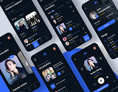 MyMusic - music player mobile app.