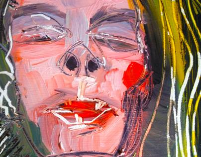 """""""Spring Ochre"""" Oil Painting 2013"""