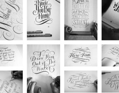 Hand Lettered Logos